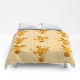 Through my eyes gold Comforters