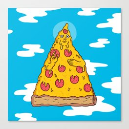 Pizza Be With You Canvas Print