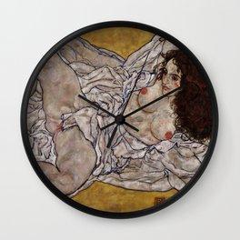 "Egon Schiele ""Reclining Woman"" Wall Clock"