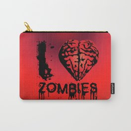 I heart Zombies Carry-All Pouch