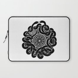 Tangled Serpents at Midnight Laptop Sleeve