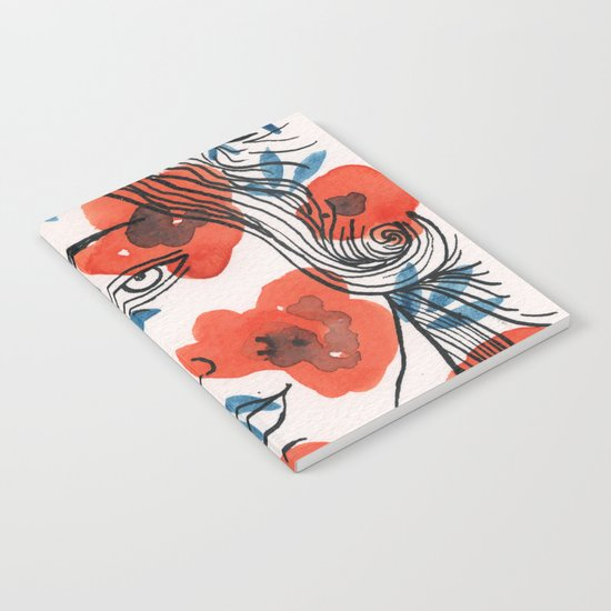 Botticelli girl Notebook