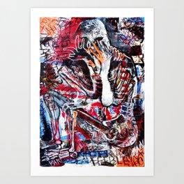 Buried Alive Art Print