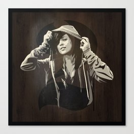 Hoody Canvas Print