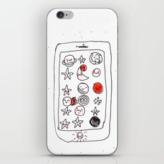 My space phone iPhone & iPod Skin
