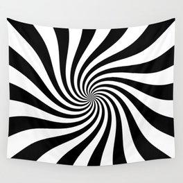 Swirl (Black/White) Wall Tapestry