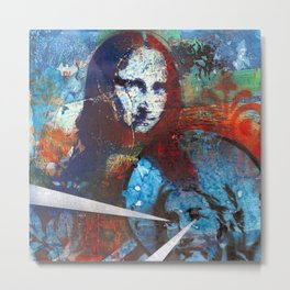 Finding Mona Metal Print