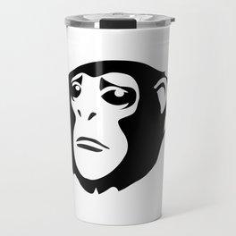 Sad Monkey Travel Mug