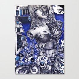 SIXTYNINE Canvas Print