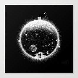 Utopia - Romantic Illustration Canvas Print