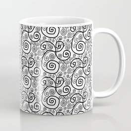 Swirly Curls Coffee Mug