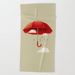 Umbrella Beach Towel