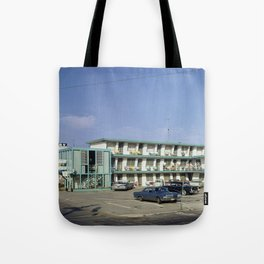 Ebb Tide Motel 1950's, Wildwood, NJ, Retro Motel Tote Bag