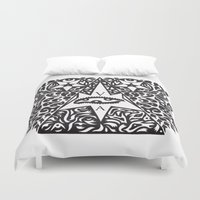 occult Duvet Covers featuring Occult  by Maelstrm