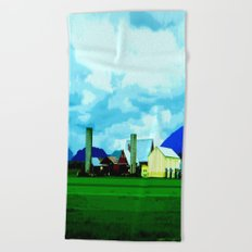 All At Once We Had It In For The Sky Beach Towel