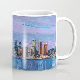 Sydney Skyline with Opera at Dusk Coffee Mug