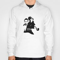 221b Hoodies featuring Residents of 221B by MadTee