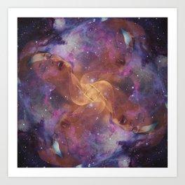 Celestial Orgasm Art Print