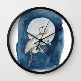Moon Guard Wall Clock