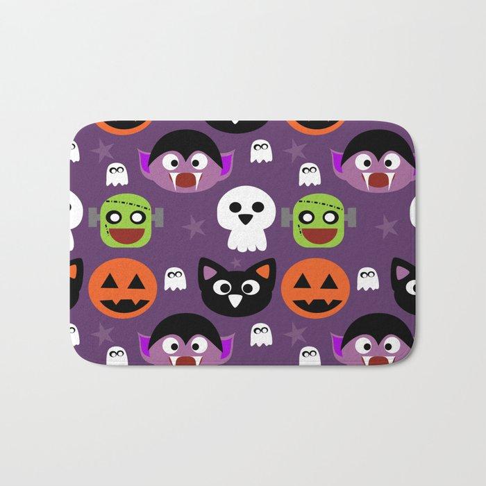 Halloween friends Bath Mat