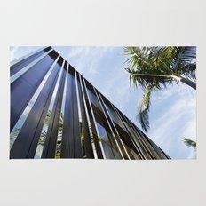 Palm Trees and Chrome Rug