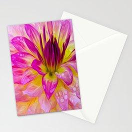 Dahlia by JC LOGAN Stationery Cards