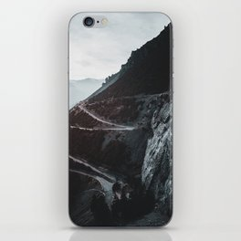 Roads of the Mountain (Color) iPhone Skin