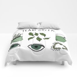 Team Green Comforters