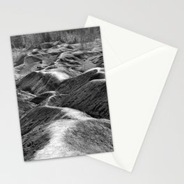 Red Soil (Black & White) Stationery Cards