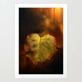 a warm place to be Art Print