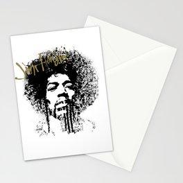 Jimi Hendrix / ink Stationery Cards