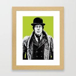 Dandy (green) Framed Art Print