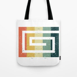 Colorful Spiral Art Gift Idea for Shirts and other Art Products Birthday Friends and Art Fans Hypno Tote Bag