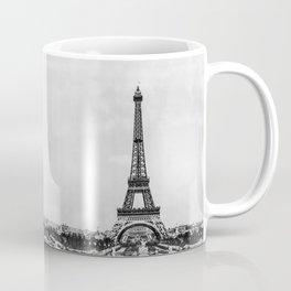 Eiffel tower in B&W with painterly effect Coffee Mug