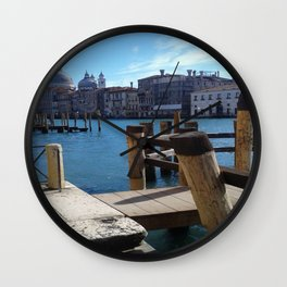 Venezia: Spring is coming! Wall Clock