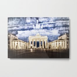 BERLIN Brandenburg Gate | In Detail Metal Print