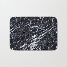 Real Marble Black Bath Mat