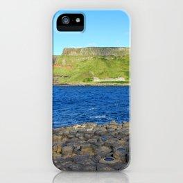 Gigant's Causeway. Antrim Coast. Northern Ireland iPhone Case