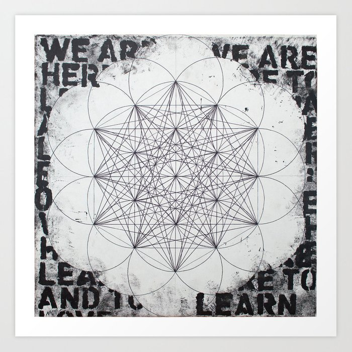 Geometry #2 aka E8 Art Print