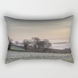 January Sunrise Rectangular Pillow