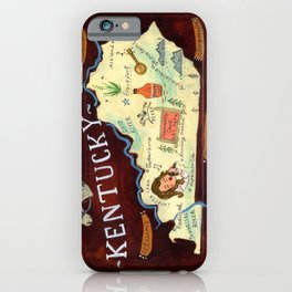 Kentucky iPhone Case
