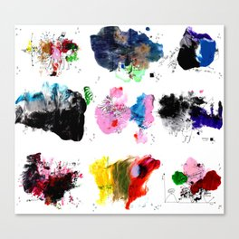 9 abstract rituals (2) Canvas Print