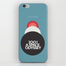 2001 a Space Odyssey - Stanley Kubrick ,Movie Poster, minimal version, vintage, retro iPhone & iPod Skin