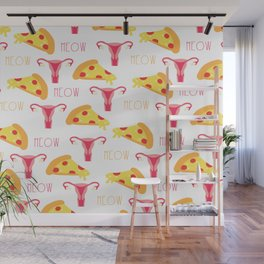 Pizza n' Pussy Wall Mural