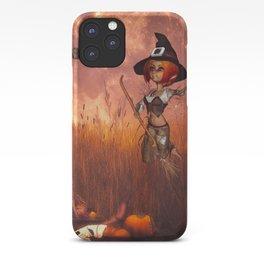 Cute little witch iPhone Case