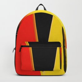 Points and Edges Abstract Backpack