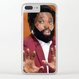 Ken Clear iPhone Case