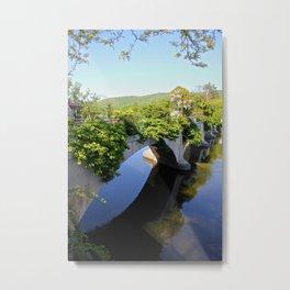 Bridge of Flowers, Shelburne Falls, Ma Metal Print