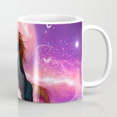 Horse with cute fairy  Mug