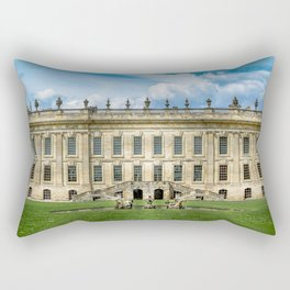 Chatsworth House Rectangular Pillow